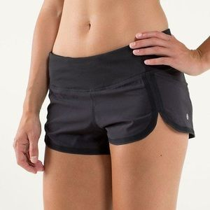 Lululemon Black Racer Shorts 2.5""